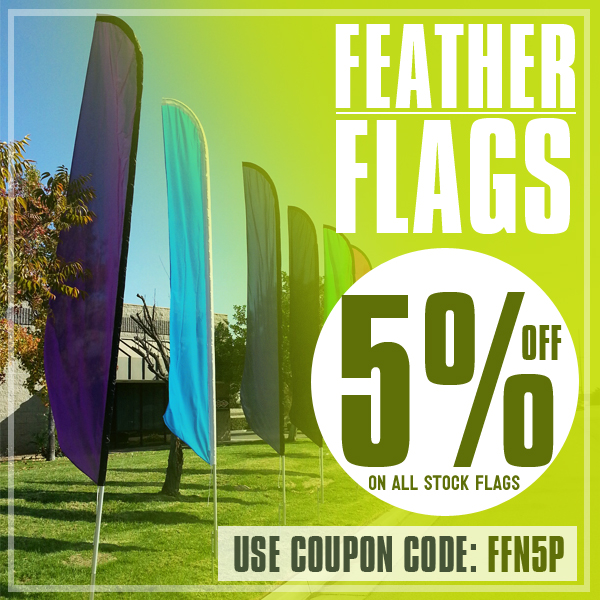 Cheap Swooper Banner Flags