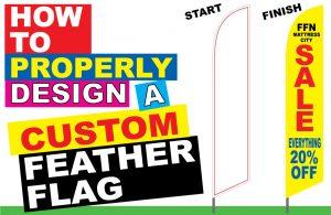 how to design a custom banner flag