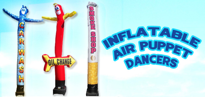 Inflatable Tube Man Air Powered Dancers – Cheap Waving Tube Men