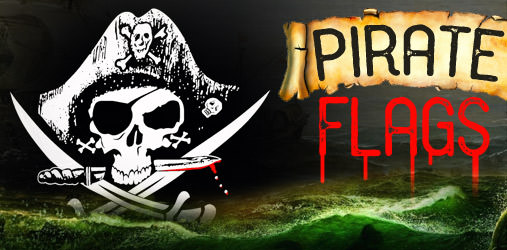 Get Your High Quality Jolly Roger or Pirate Flag at FeatherFlagNation