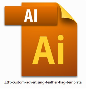 12ft-custom-advertising-feather-flag-template
