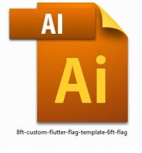 8ft-custom-flutter-flag-template-6ft-flag