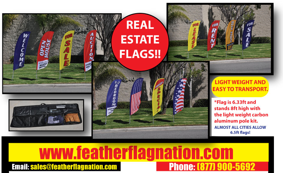 real-estate-feather-flags-open-house-welcome-set