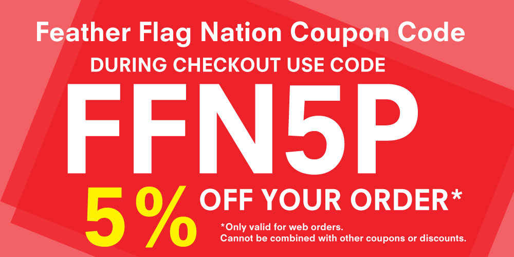 Feather Flag Nation Coupon Codes
