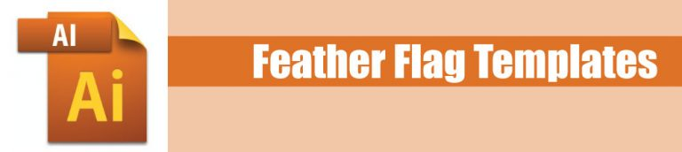 Feather Flag Templates