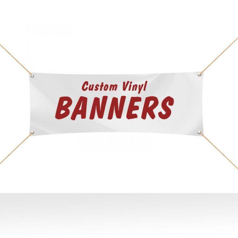 Custom Vinyl Banner Printing in Riverside, CA