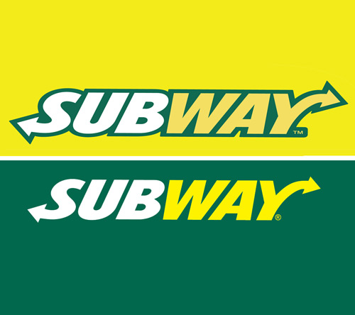 Old discontinued Subway Franchise logo