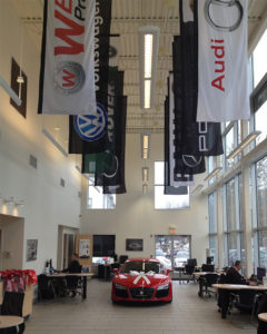 Custom flags to increase sales - use as decor