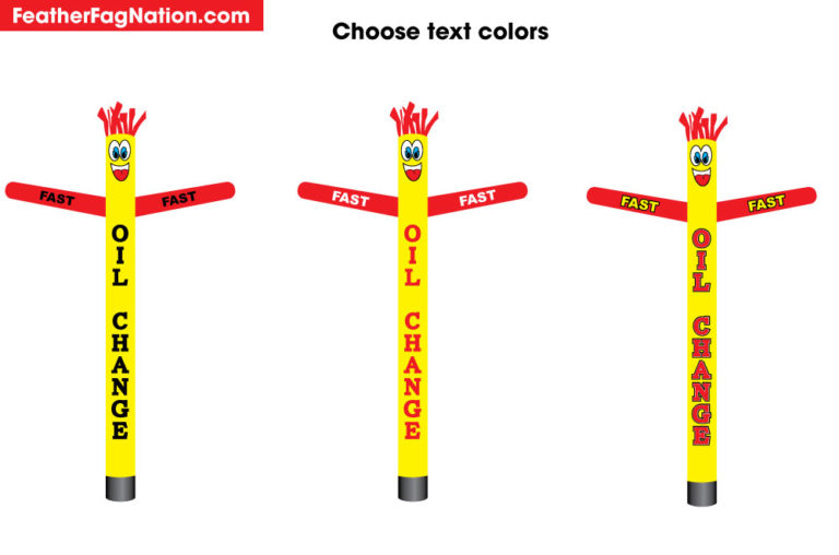 How to Design a Custom Inflatable Tube Man Air Powered Dancer