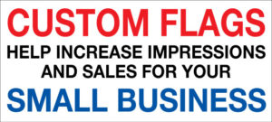 how to use custom flags to increase sales