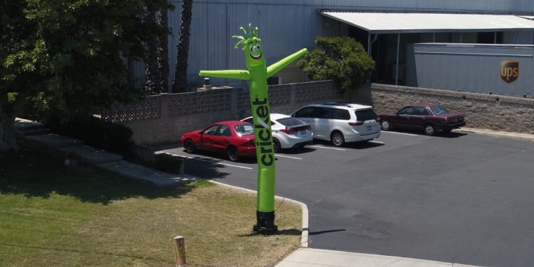 Inflatable Tube Man Air Powered Dancer – What is it and how can your business use it.