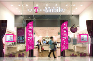 6ft T-mobile feather flags for indoors
