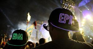 Cheap EDM festival flags