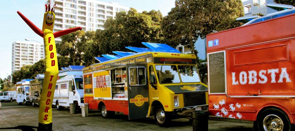 custom air dancer food trucks