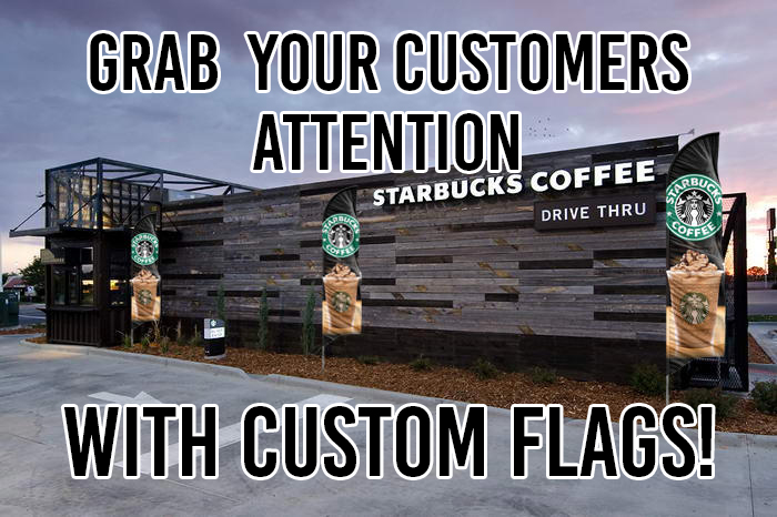 grab your customers attention with custom flags