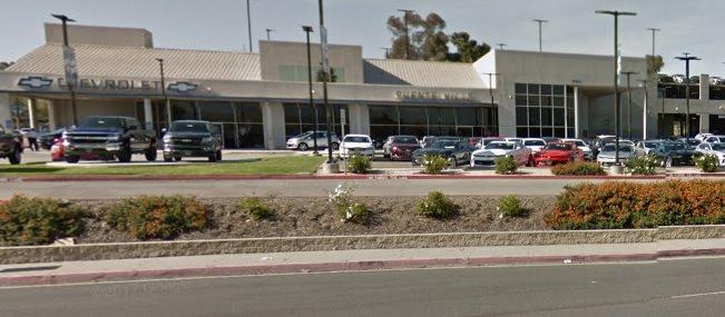 Empty Auto Dealership