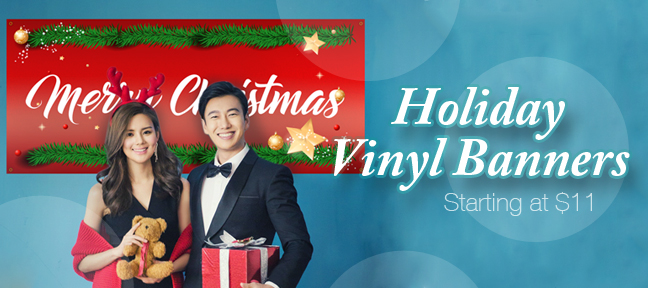 Christmas Vinyl Banners To Celebrate the Season  – Buy Today!