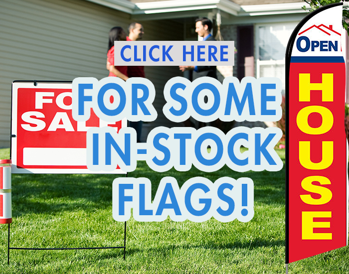 In Stock Feather Flags