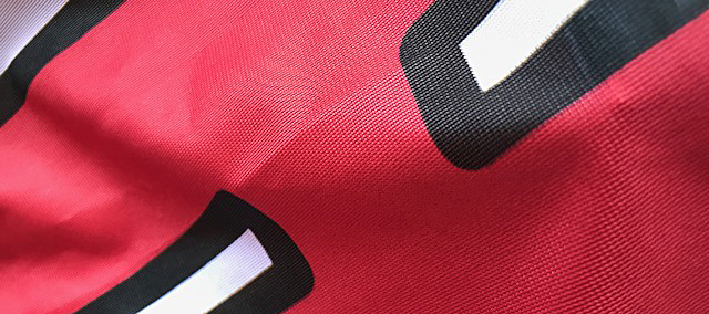 Polyester Knit Close Up