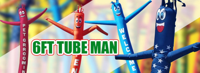 6ft Air Inflatable Tube Man Custom