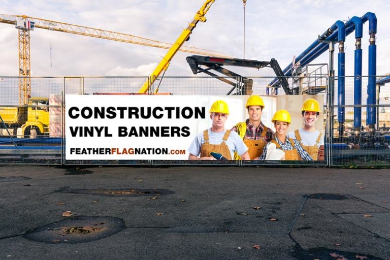 Construction Site Vinyl Banners