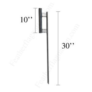GROUND SPIKE_NSH702 for Feather Flags