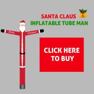 Santa Clause Christmas Inflatable Tube Man