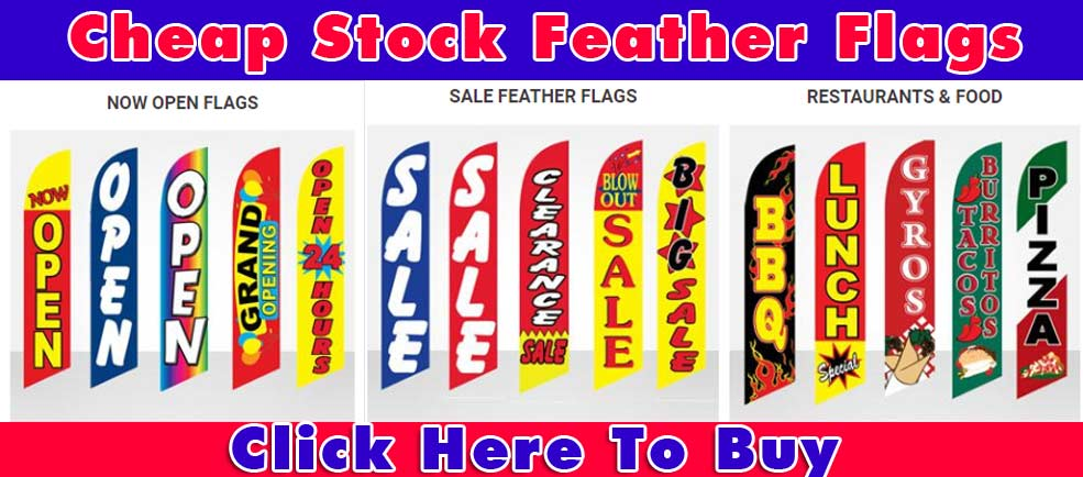 stock-feather-flags-open-sale-restaurant-banner