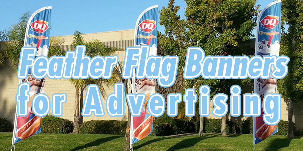 Feather Flag Banners for Advertising