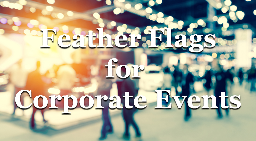 Corporate Feather Flags