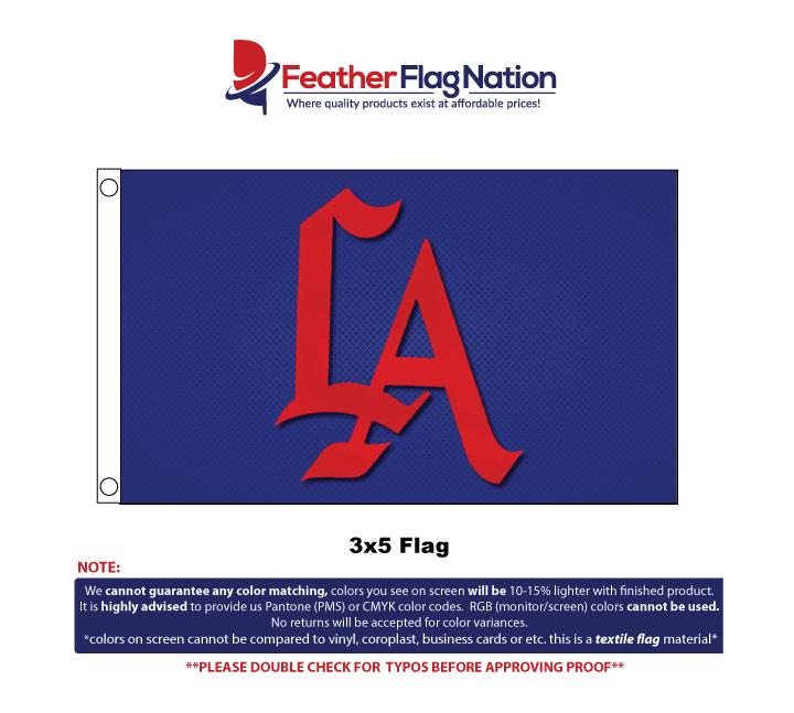 Custom Flag 3x5 Design Proof