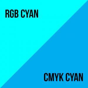 rgb vs cmyk cyan