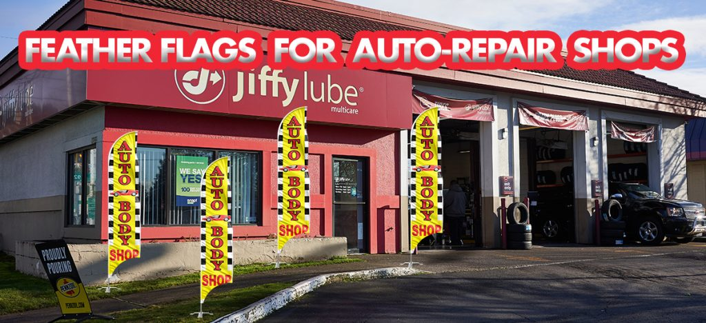 Feather-Flags-For-Auto-Repair-Shops