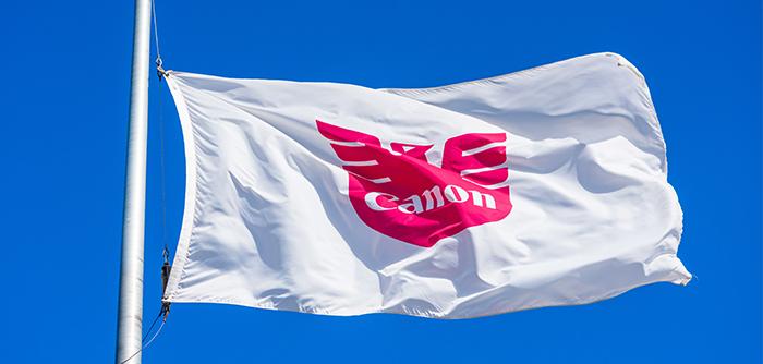 Flag on Blue Sky