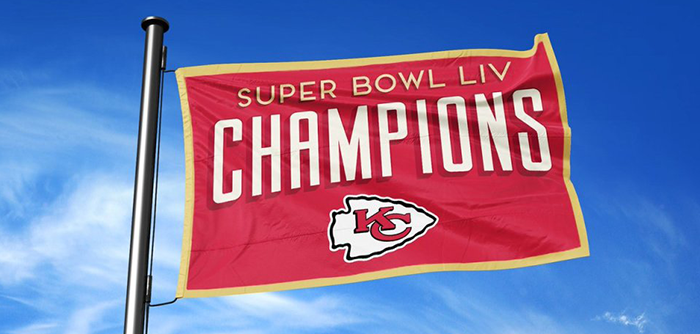Super Bowl Flag