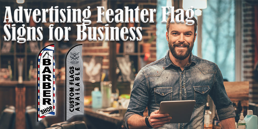feather flags for your business
