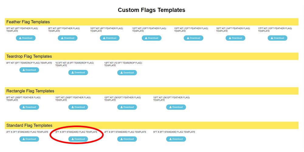Custom Flag Templates