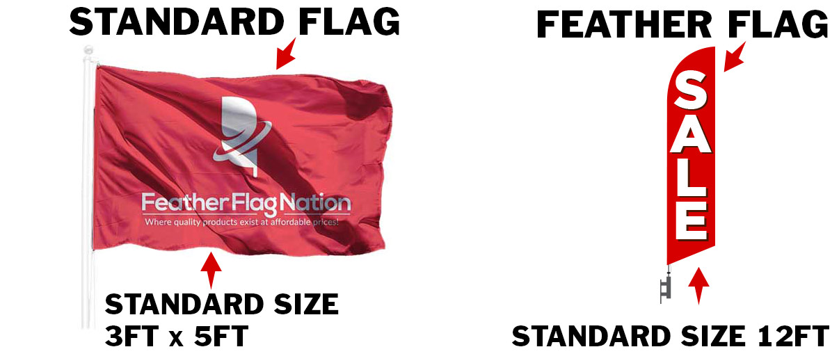 custom-standard-flag-size