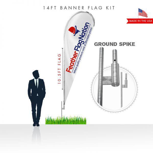 14ft-Teardrop-flag-kit-with-ground-spike