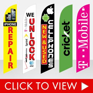 stock-cellular-dealers-feather-banner-flags-cricket-t-mobile-verizon