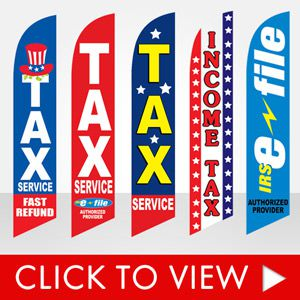 tax-service-income-tax-fast-refund-efile-stock-feather-flags