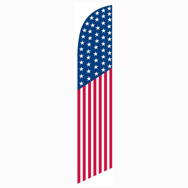 American USA Feather Flag - best flag for outdoor decorating.