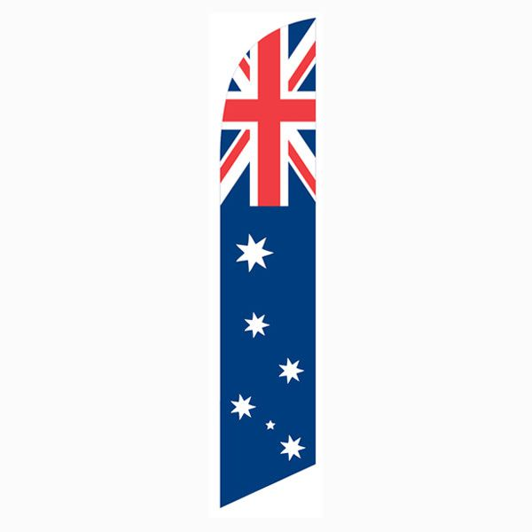Purchase an Astralian feather flag today for your front yard.