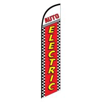 Auto Electric Feather Flag
