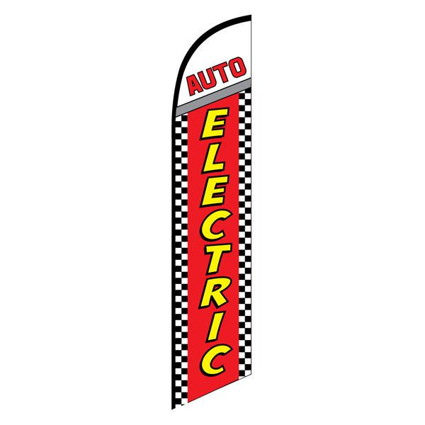 Auto Electric Feather Flag for businesses looking to increase sales.