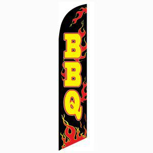 BBQ Feather Flag is your best outdoor advertising banner option.