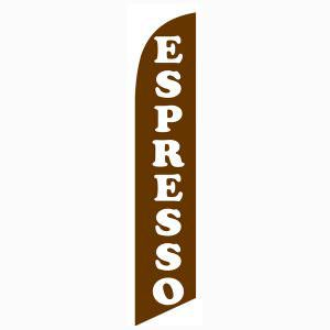 Espresso Feather Flag to bring in those awesome coffee addicts.