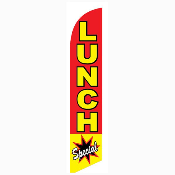 Lunch Special Feather Flag to advertise your happy hour and specials.