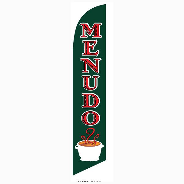 Menudo Feather Flag is a must have for all mexicna restaurants.