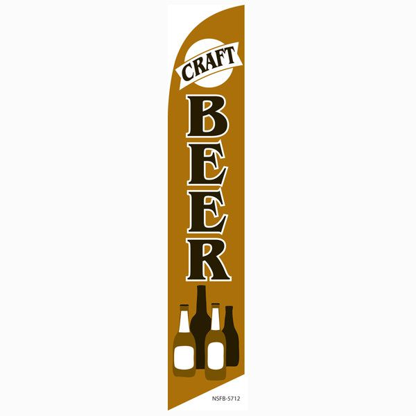 Craft Beer Feather Flag will bring in more beer enthusiasts to your location